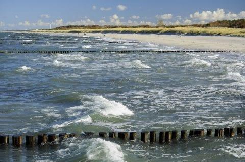Strandimpressionen im Herbst