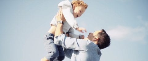 Papa+Kind